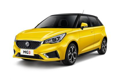 Lease MG Motor UK MG3 car leasing