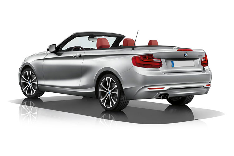 BMW 2 Series 218 Convertible 2.0 d 150PS Sport 2Dr Auto [Start Stop] back view