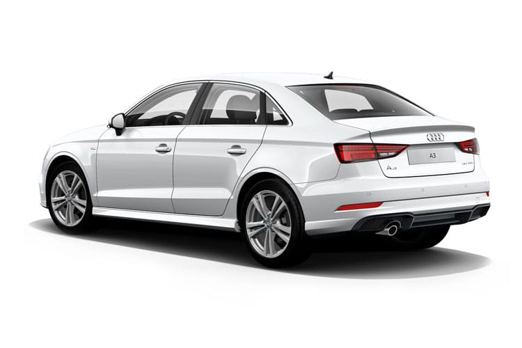 Audi A3 35 Saloon 4Dr 1.5 TFSI 150PS Sport 4Dr S Tronic [Start Stop] back view