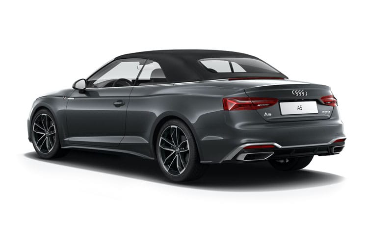 Audi A5 40 Cabriolet quattro 2Dr 2.0 TDI 190PS Edition 1 2Dr S Tronic [Start Stop] back view