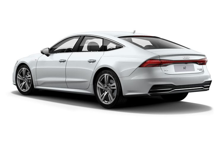 Audi A7 45 Sportback quattro 5Dr 3.0 TDI V6 245PS Black Edition 5Dr S Tronic [Start Stop] back view