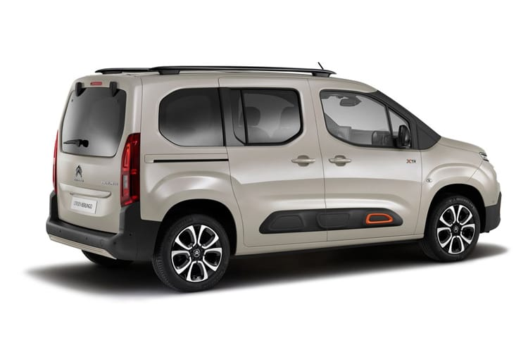 Citroen Berlingo XL MPV 1.5 BlueHDi 130PS Flair XTR 5Dr EAT8 [Start Stop] back view