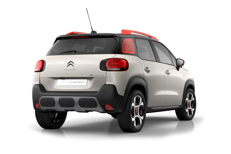 Citroen C3 Aircross SUV 1.2 PureTech 110PS Flair 5Dr Manual [Start Stop] back view