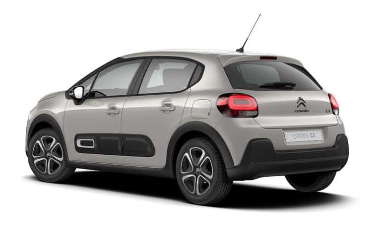Citroen C3 Hatch 5Dr 1.2 PureTech 68PS Feel 5Dr Manual back view