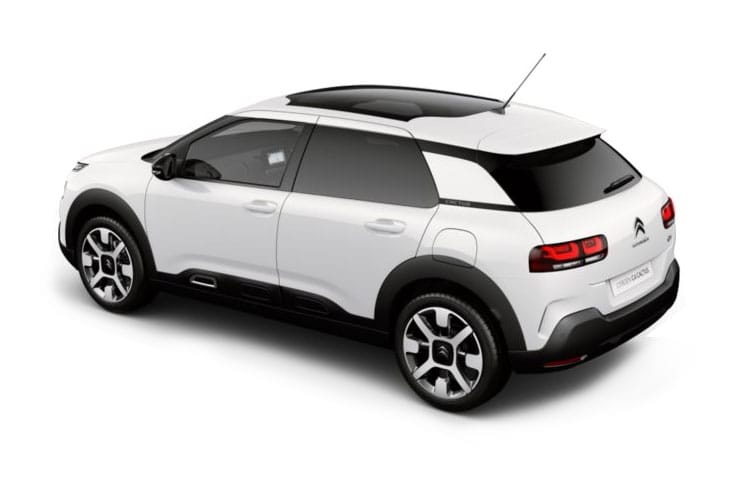 Citroen C4 Cactus Hatch 5Dr 1.2 PureTech 130PS Flair 5Dr EAT6 [Start Stop] back view