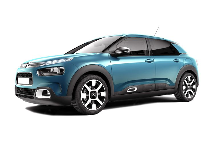 Citroen C4 Cactus SUV 1.6 BlueHDi 100PS Flair Edition 5Dr Manual back view
