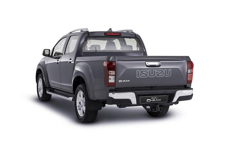 Isuzu D-MAX Pick Up 4wd 1.9 TD 4WD 164PS Utility Pickup Manual [Start Stop] back view