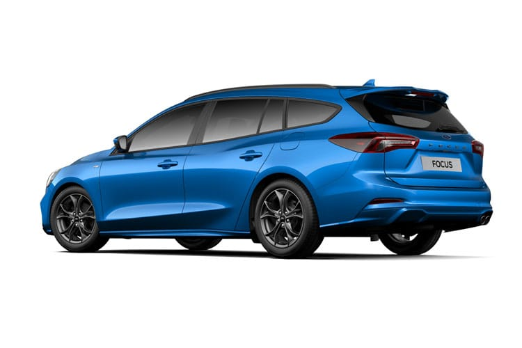 Ford Focus Estate 1.0 T EcoBoost MHEV 155PS Titanium X Edition 5Dr Manual [Start Stop] back view