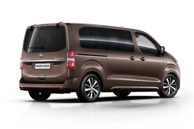 Toyota PROACE Verso Long 2.0 D FWD 150PS Shuttle MPV Manual [Start Stop] [9Seat Navi] back view
