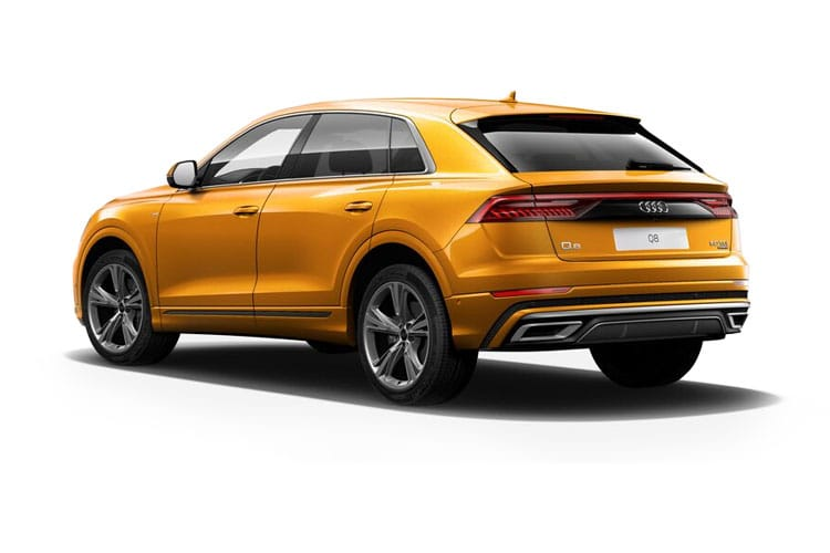 Audi Q8 50 SUV quattro 5Dr 3.0 TDI V6 286PS S line 5Dr Tiptronic [Start Stop] [Comfort Sound] back view