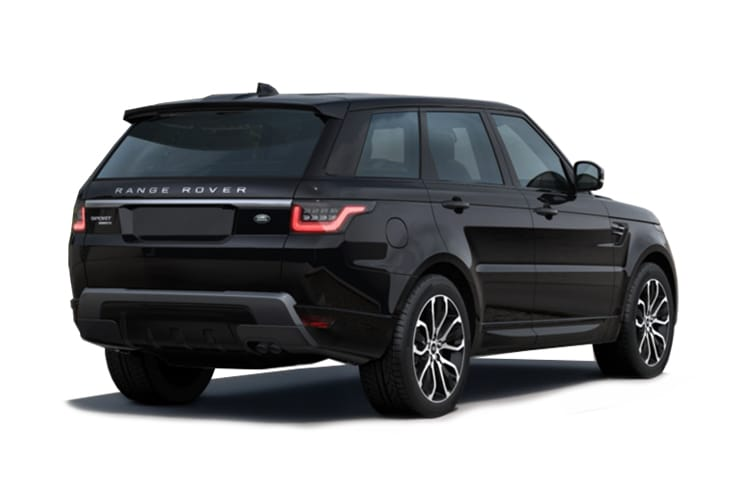 Land Rover Range Rover Sport SUV 2.0 P400e PHEV 13.1kWh 404PS HSE Dynamic Black 5Dr Auto [Start Stop] [5Seat] back view