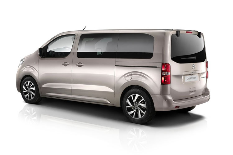 Citroen SpaceTourer XL 5Dr 2.0 BlueHDi FWD 180PS Flair MPV EAT [Start Stop] [8Seat] back view