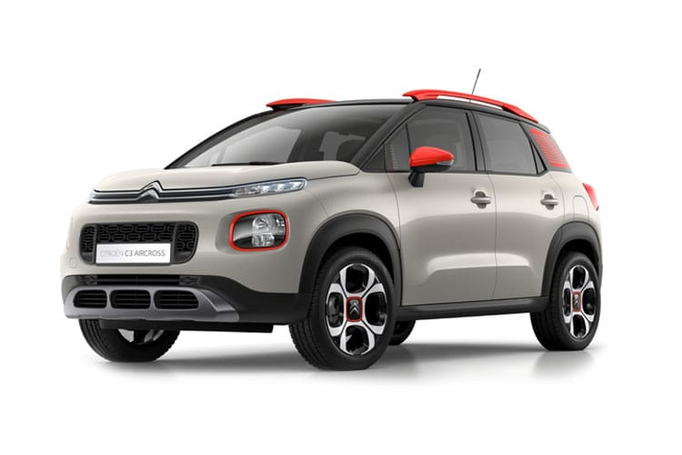 Citroen C3 Aircross SUV 1.2 PureTech 110PS Flair 5Dr Manual [Start Stop] front view