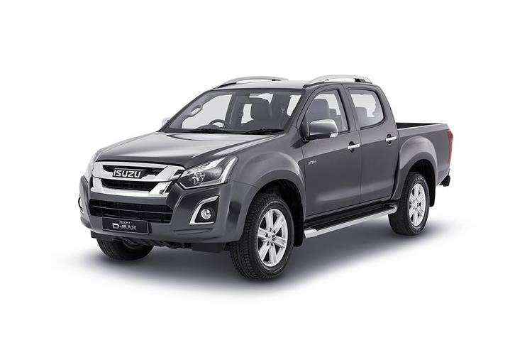 Isuzu D-MAX Pick Up 4wd 1.9 TD 4WD 164PS Utility Pickup Manual [Start Stop] front view