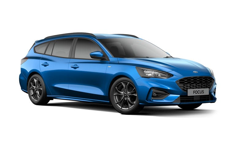 Ford Focus Estate 1.0 T EcoBoost MHEV 155PS Titanium X Edition 5Dr Manual [Start Stop] front view