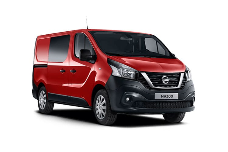 Nissan NV300 L1 30 1.6 dCi FWD 95PS Acenta Crew Van Manual [Start Stop] front view