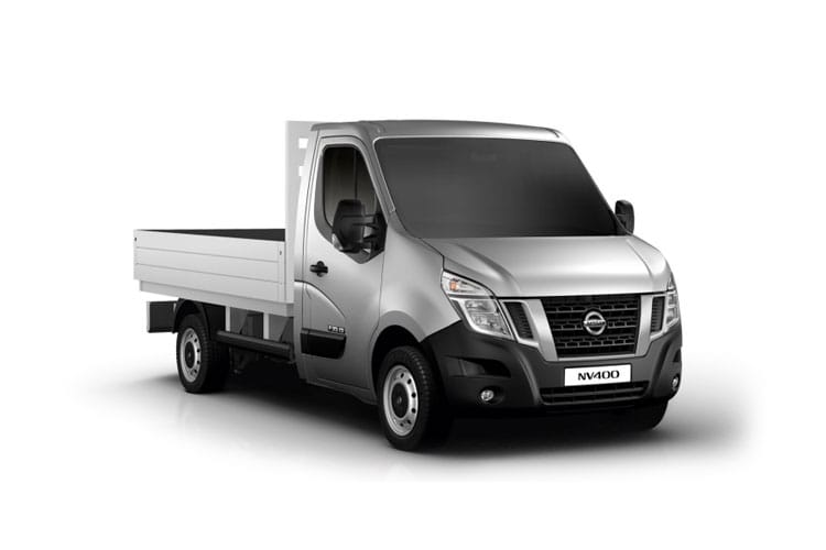 Nissan NV400 L2 35 FWD 2.3 dCi FWD 135PS Tekna Dropside Manual front view