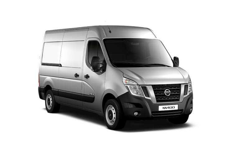 Nissan NV400 L3 35 FWD 2.3 dCi FWD 180PS Acenta Van High Roof Manual [Start Stop] front view