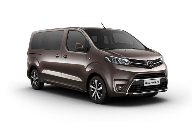 Toyota PROACE Verso Long 2.0 D FWD 150PS Shuttle MPV Manual [Start Stop] [9Seat Navi] front view