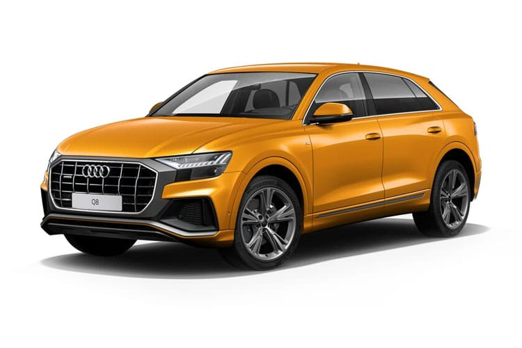 Audi Q8 50 SUV quattro 5Dr 3.0 TDI V6 286PS S line 5Dr Tiptronic [Start Stop] [Comfort Sound] front view