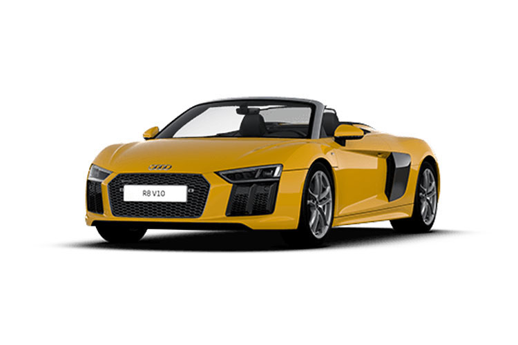 Audi R8 Spyder Convertible quattro 5.2 FSI V10 570PS  2Dr S Tronic [Start Stop] front view