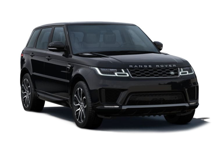 Land Rover Range Rover Sport SUV 2.0 P400e PHEV 13.1kWh 404PS HSE Dynamic Black 5Dr Auto [Start Stop] [5Seat] front view
