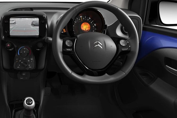Citroen C1 Hatch 3Dr 1.0 VTi 72PS Flair 3Dr Manual [Start Stop] inside view