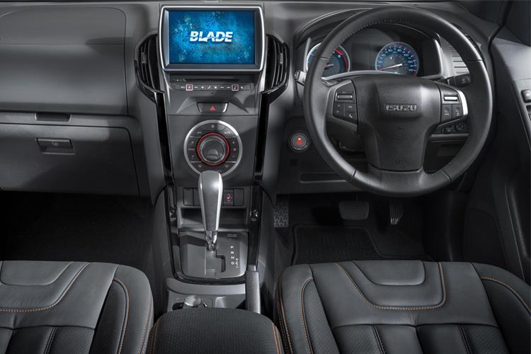 Isuzu D-MAX Pick Up 4wd 1.9 TD 4WD 164PS Utility Pickup Manual [Start Stop] inside view