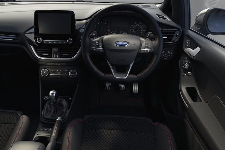Ford Fiesta Hatch 5Dr 1.5 T EcoBoost 200PS ST-3 5Dr Manual [Start Stop] inside view
