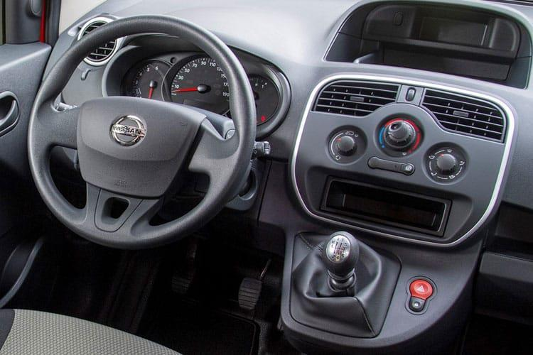 Nissan NV250 L2 1.5 dCi FWD 95PS Acenta Crew Van Manual [Start Stop] inside view