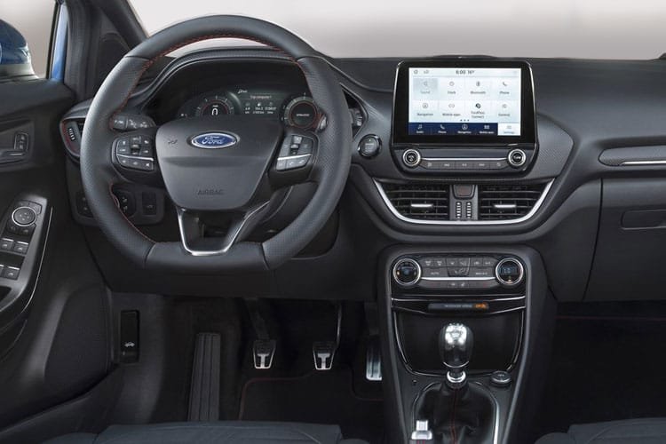 Ford Puma SUV 1.0 T EcoBoost MHEV 155PS ST-Line X 5Dr Manual [Start Stop] inside view