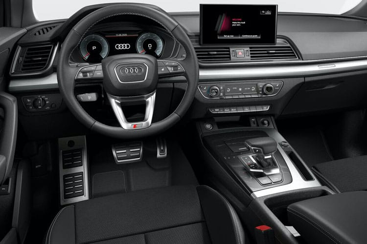 Audi Q5 40 SUV quattro 5Dr 2.0 TDI 190PS Sport 5Dr S Tronic [Start Stop] [Technology] inside view