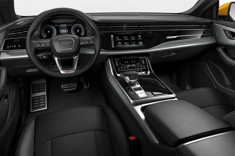 Audi Q8 50 SUV quattro 5Dr 3.0 TDI V6 286PS S line 5Dr Tiptronic [Start Stop] [Comfort Sound] inside view