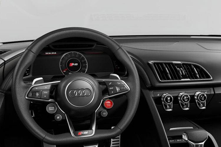 Audi R8 Spyder Convertible quattro 5.2 FSI V10 570PS  2Dr S Tronic [Start Stop] inside view