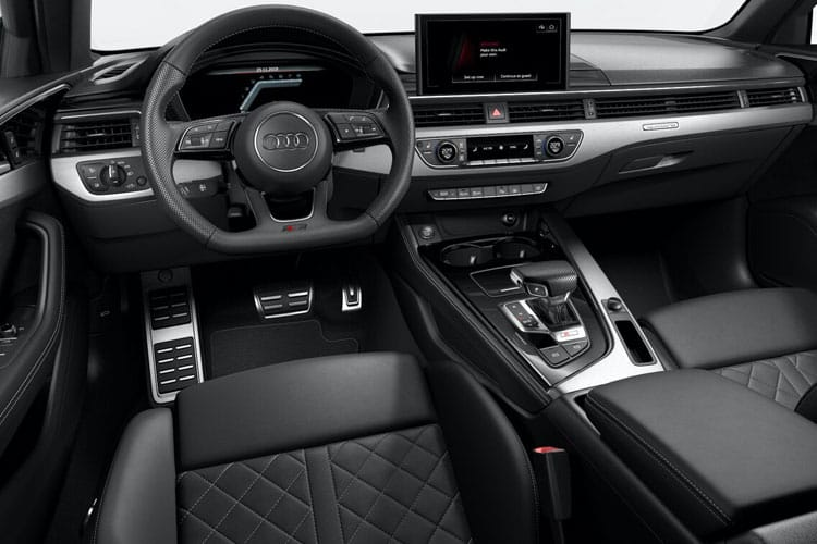 Audi A4 30 Saloon 4Dr 2.0 TDI 136PS Black Edition 4Dr S Tronic [Start Stop] [Comfort Sound] inside view
