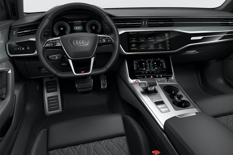 Audi A6 50 Saloon quattro 3.0 TDI V6 286PS S line 4Dr Tiptronic [Start Stop] inside view